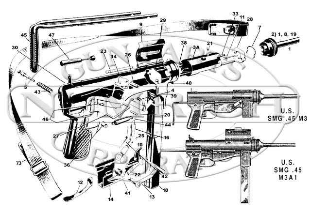 mp40 parts diagram with Question on 25539 Suomi M31 Carbine besides 100619 Help Reassembly Field Stripped Luger 4 additionally The Uzi Submachine Gun Israels First Action Hero Video 2932974 together with 337417 in addition 1110207 How Build Ar Variant Lower Hunk Metal 22.