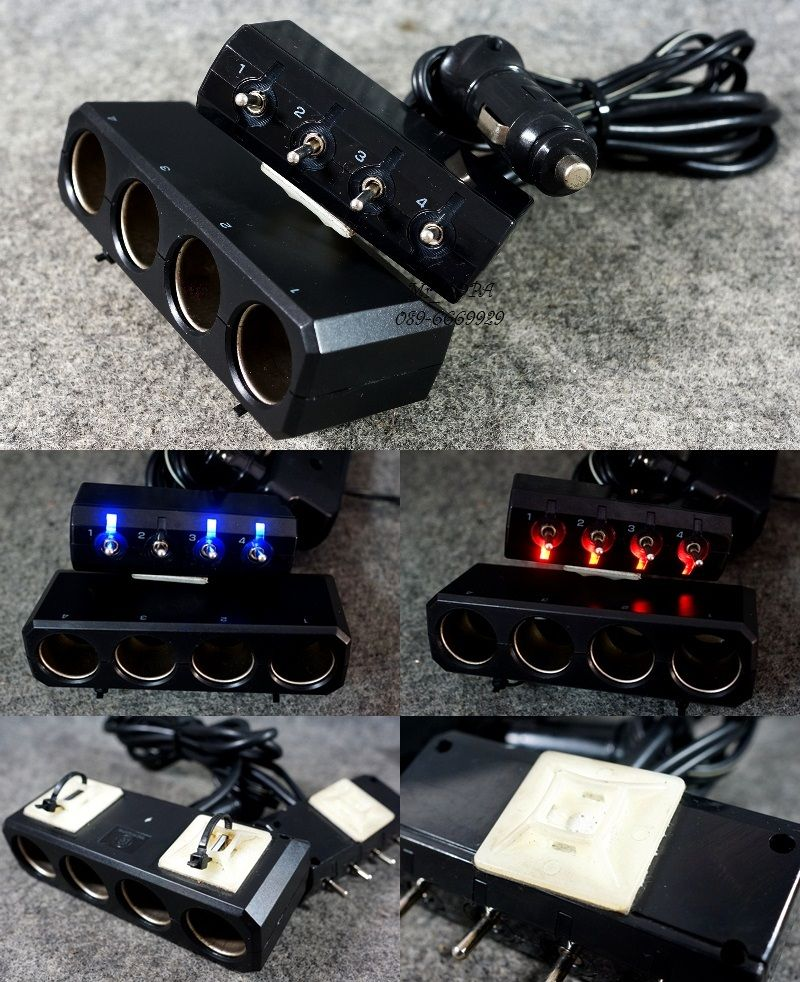 หัวเกียร์/Inverter/เกจ์วัด/แป้นเหยียบ/เครื่องเสียง/SplitFire/โลโก้ม้า +อืนๆแท้