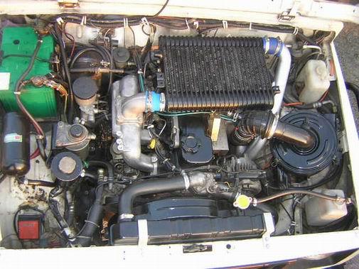 Японский двигатель на УАЗ