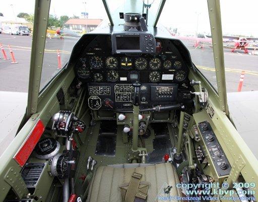 P40 Cockpit